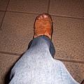 受傷滿三個月的左腳