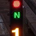 奇岩:紅燈/正位(N)/1號轉轍器