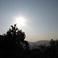 快下山的太陽