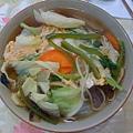 06/23 肉野菜蕎麥麵 (mmm)