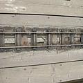 勝興車站第一月台軌道中的神秘小軌道設施