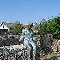 潘安邦的外婆塑像