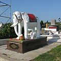 觀音亭裡的大象