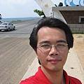 澎湖跨海大橋自拍