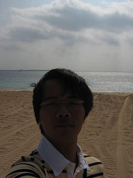 隘門沙灘自拍 1