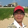 山水沙灘自拍 1