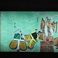 輔大站公共藝術-布袋戲:安天會