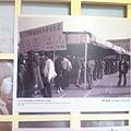 1982年台北車站預售春節車票人潮