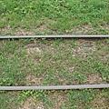 看起來有在用的鐵軌
