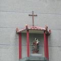 牆壁上的(應該是)聖母瑪莉亞
