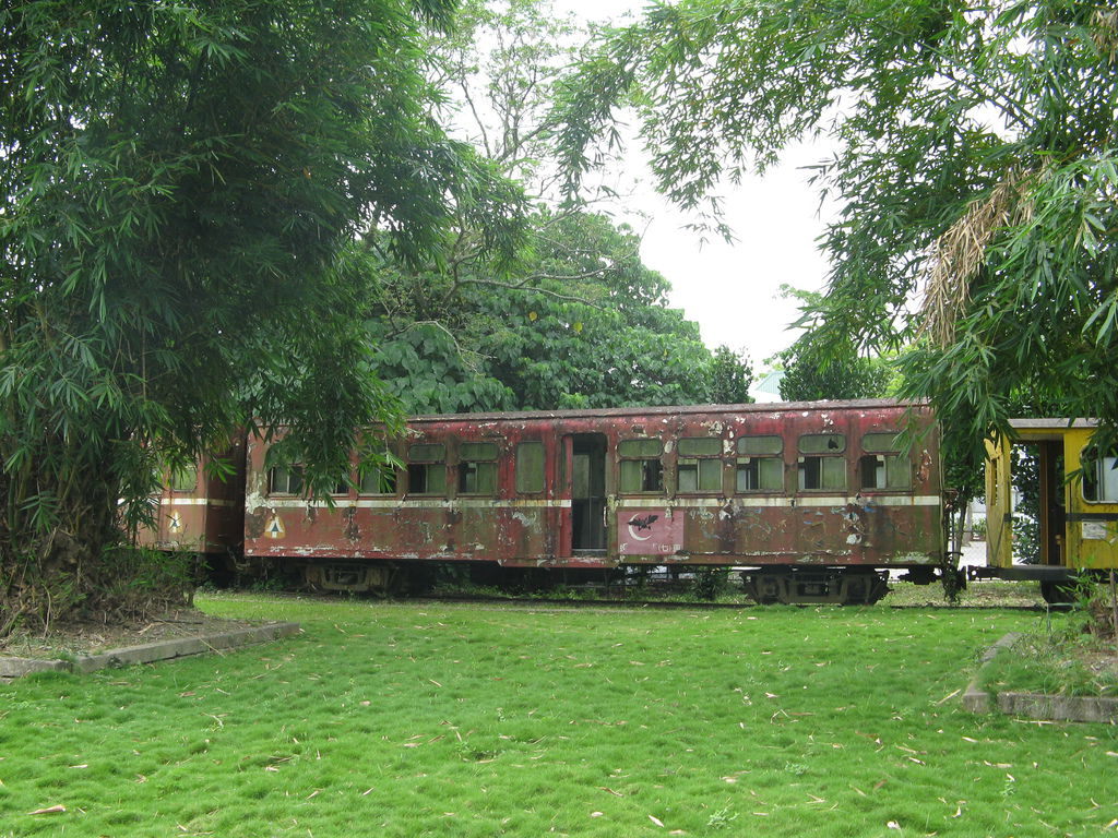 阿里山森林鐵路光復號 SPC8 車廂
