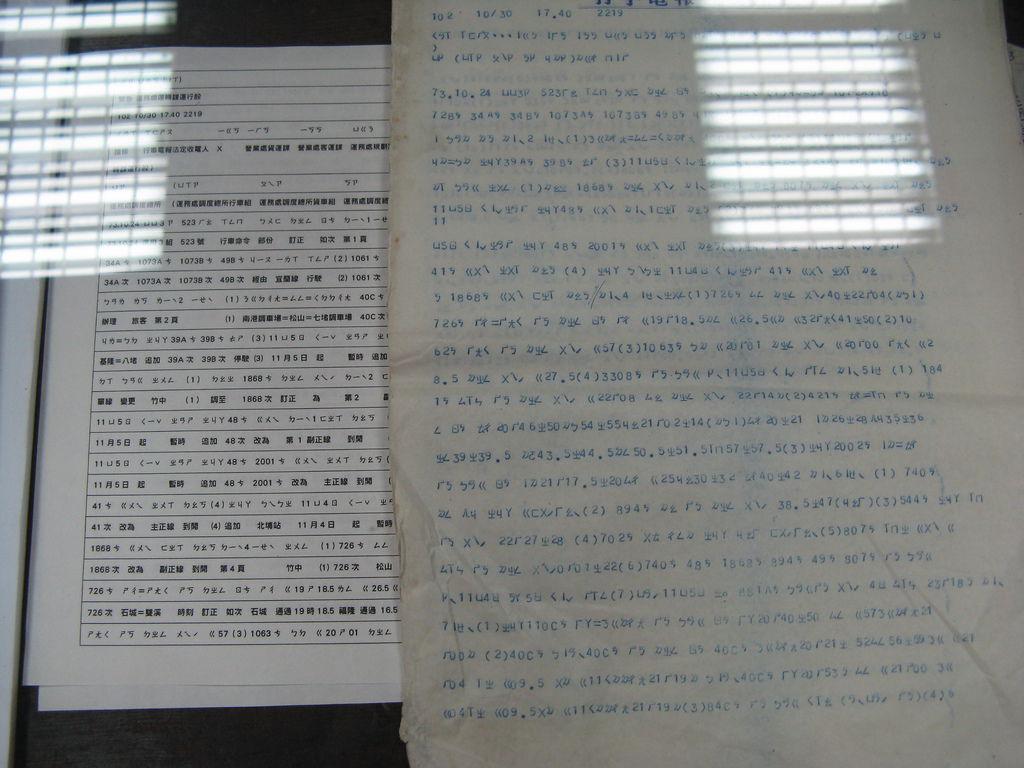 第一次看到完整的國音電報
