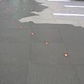 地上的燈代表現有的十字路網