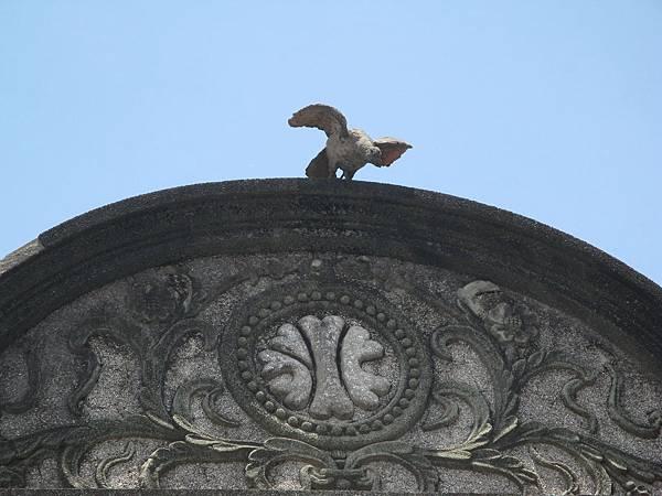 旗山老街巴洛克建築 老鷹