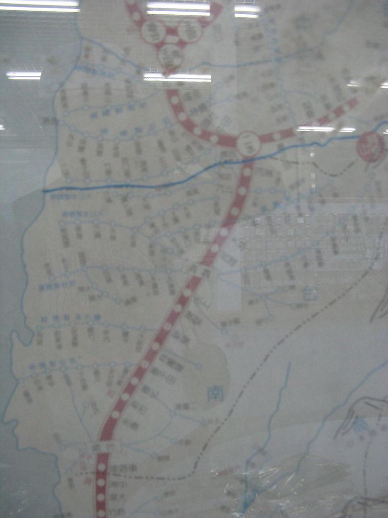 民國35年的全台鐵道地圖