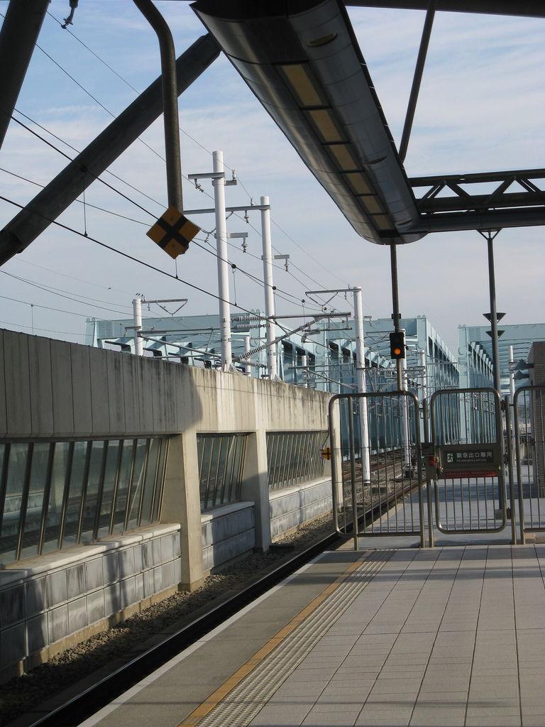列車停止標記和站區邊界標記