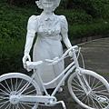 居禮夫人騎腳踏車