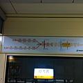 行天宮站上的新路線圖
