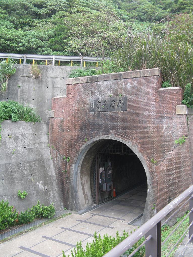 舊草嶺隧道南口-白雲飛處