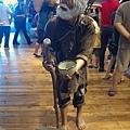蘭陽博物館的假乞丐