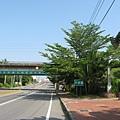 舊鐵橋濕地公園入口附近