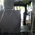 竹林車站展示用的蒸汽火車頭