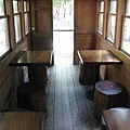 竹林車站展示用的車廂