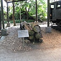 林場內陳列的輕型二輪推車