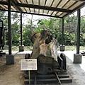 林場內陳列的重型二輪推車