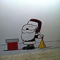走進花生漫畫 Snoopy 65 週年巡迴特展高雄首站 / Snoopy 聖誕老人
