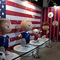 走進花生漫畫 Snoopy 65 週年巡迴特展高雄首站 / 足球系列