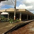 即將拆除的舊鳳山火車站月台