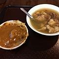 郭家肉粽,改吃豬腳湯和碗粿
