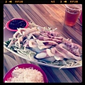 來旗津吃海產。 #wansan #qijin