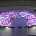 松山站的造景燈