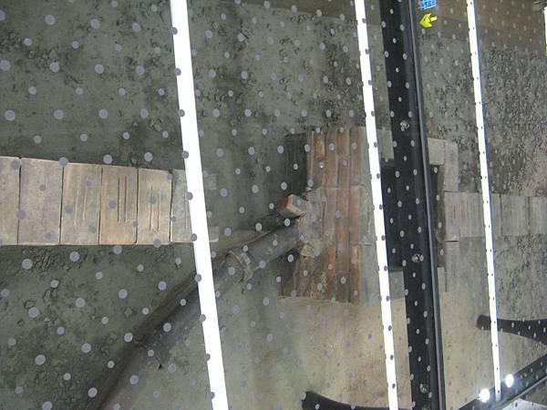 捷運北門站考古坑展示區