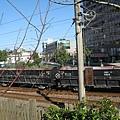 羅東林場緊臨鐵路旁