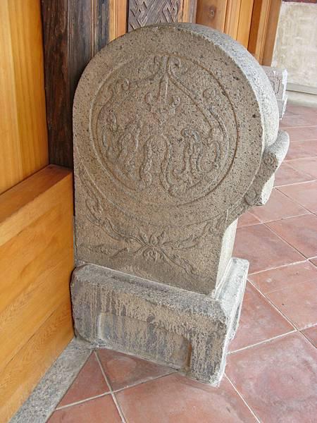 鳳儀書院頭門門口裝飾