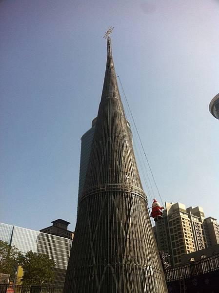 新北市市民廣場的竹筍