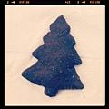 聖誕樹造型餅乾