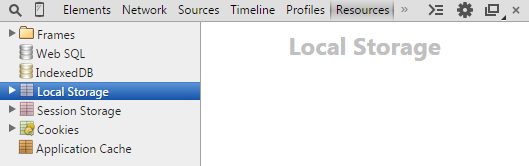 Chrome.localStorage