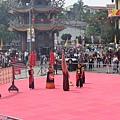 宋江陣開幕典禮,繳回代表冠軍的象徵物