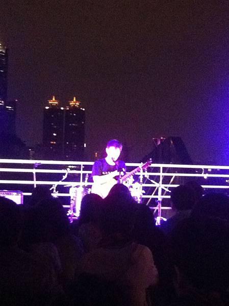 林生祥@屋頂上的舞台