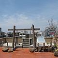 林百貨屋頂的神社
