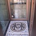 林百貨的電梯底部造型