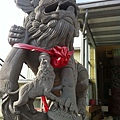 妙壽宮的劍獅