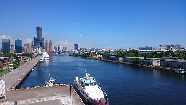 高雄港風景