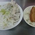 魚肚漿米粉+滷肉飯