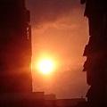 屏東市區拍到的夕陽