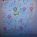 借用 Pbike 美術館站的地圖認路